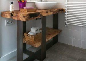 Projekt 50 G. Loftowa szafka łazienkowa.