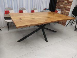 stol live edge z zywica poznan