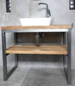 szafka łązienkowa dębowa