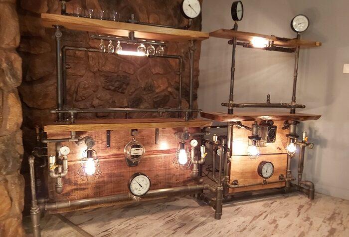 Loftowa konstrukcja świetlna lampa steampunk producent