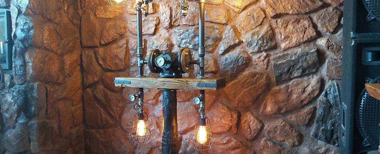 lampa loftowa steampunk