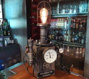 Lampa SteamPunk Kuba Wojewódzki