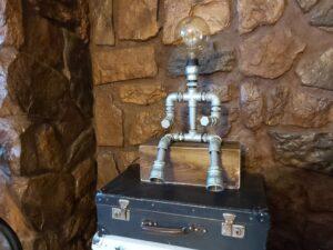 Lampka steampunk