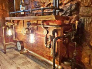 lampa steampunk loft industrial